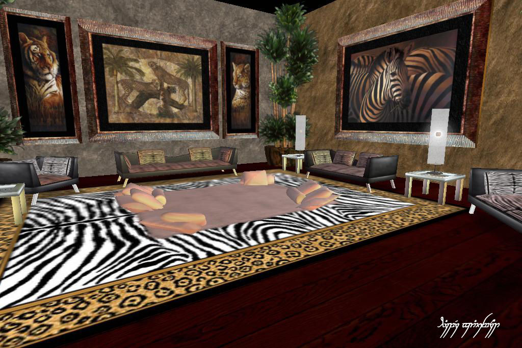 safari wall decor for living room frank s the elites club around the grid 24407