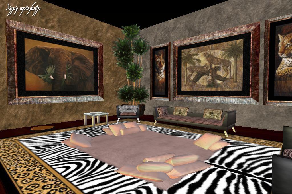 Wildlife Decor For Living Room