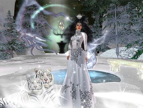 Snowqueen, by Nessy Shepherd