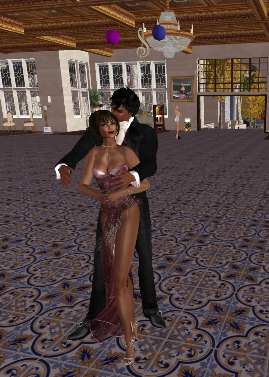 Wulf Carlucci and Cayleen Linette on the dance floor at Frank's Elite Jazz