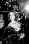 Natalie Wood, wearing a lovely fur -- something most actresses wouldn't dare wear these days unless it was certified 100% fake.