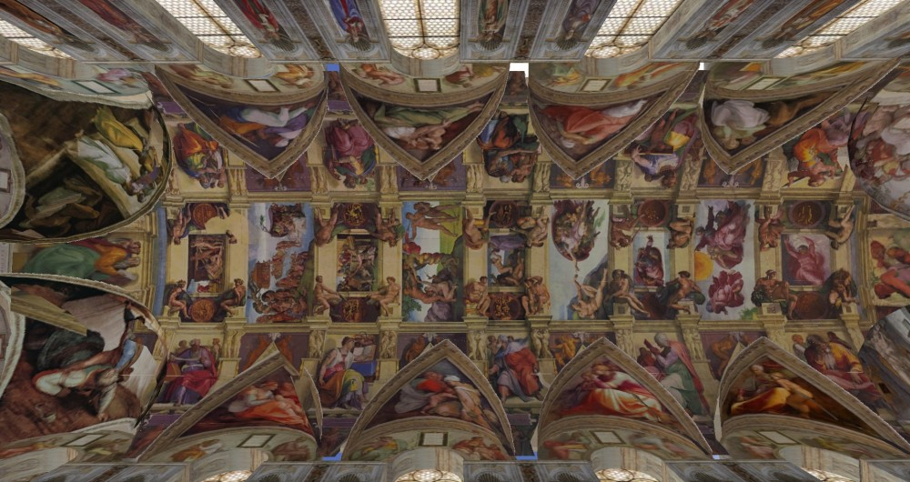 The Sistine Chapel In Second Life Around The Grid