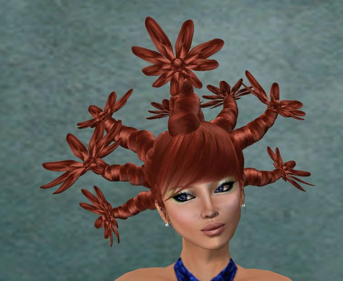 Hair Fair 2013 - L+N Flower Forest (gift hair) scripted colors