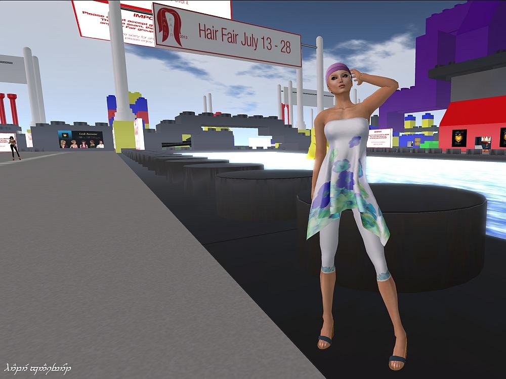 Prism and Bandana at Hair Fair 2013 blog