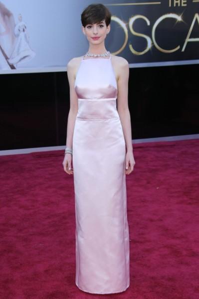 Anne Hathaway 2013 Prada