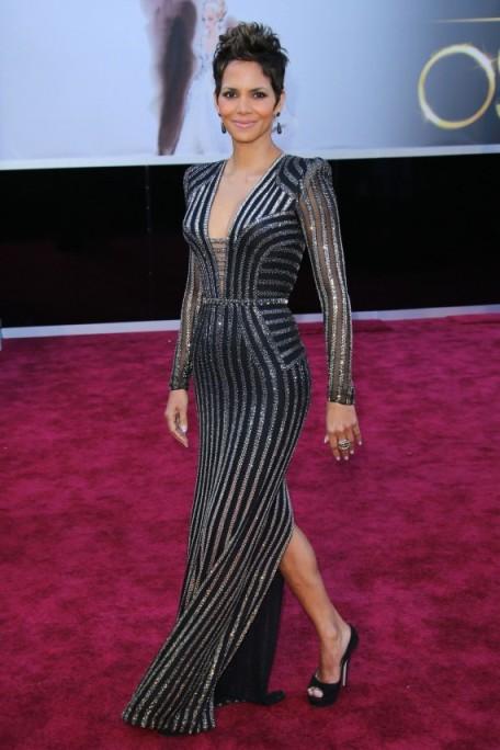 Halle Berry 2013 Versace