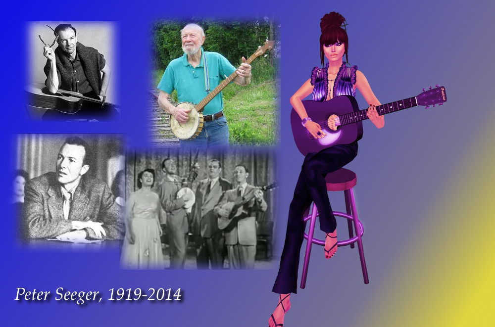 Pete Seeger blog
