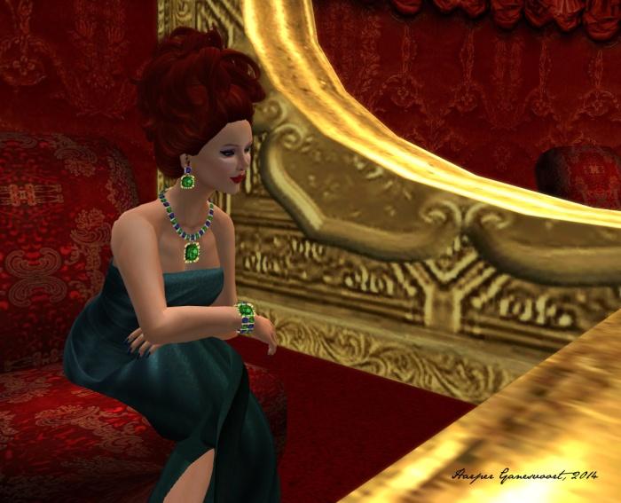 Oscar gown a
