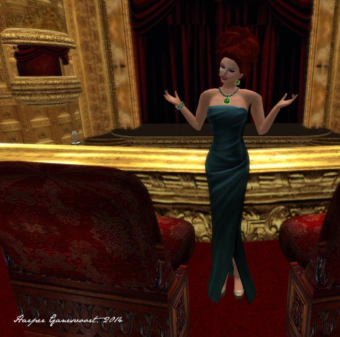 Oscar gown b