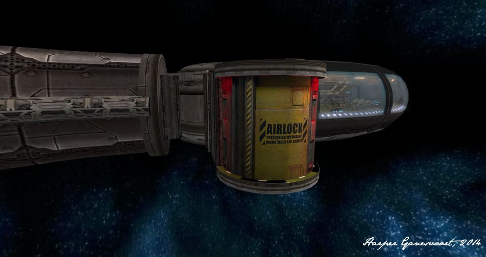 Starbase 11 - Airlock exterior