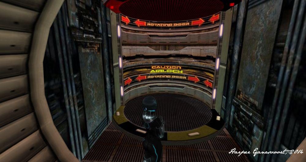 Starbase 13 - Airlock interior