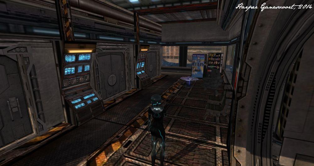 Starbase 19 - Crew Quarters (Commons)