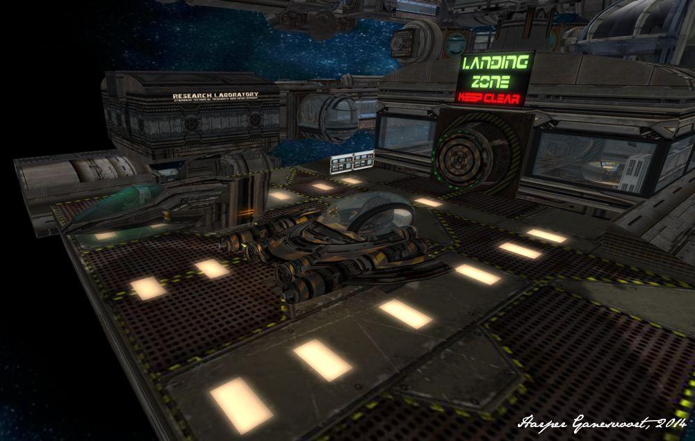 Starbase 2 - Landing zone
