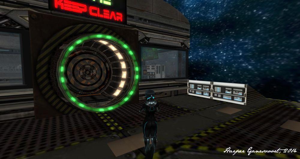 Starbase 3 - Entrance