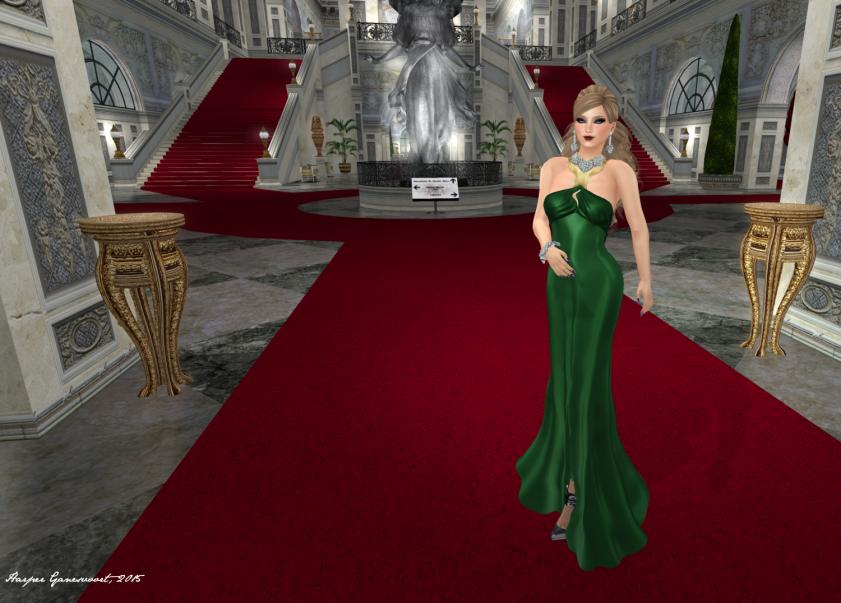 My Oscar Gown 1