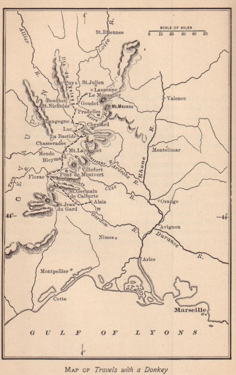 Travels-map