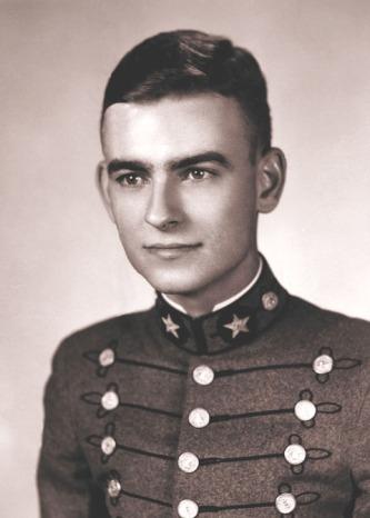 Daniels as a VMI cadet.