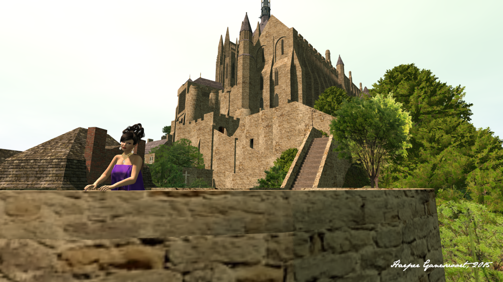 LaVian at Mont Saint Michel 6