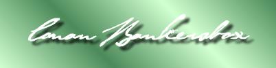 Conan's signature