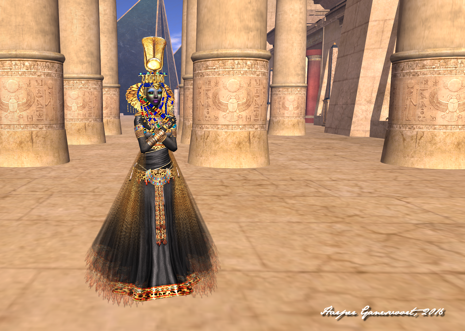 The Blessing of Anubis