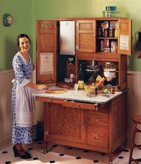 Hoosier Kitchen Cabinet: RL Sidebar: Build A Hoosier Cabinet